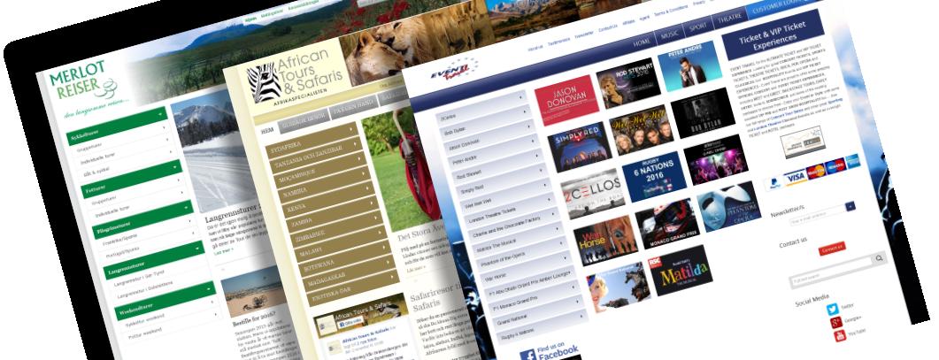 Bookingsystem og webteknik for rejsebranchen